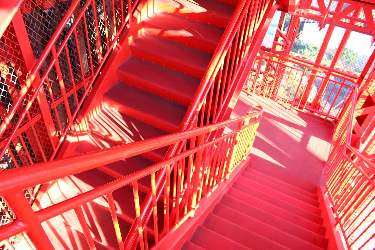 Open-air Outdoor Stairs Walk